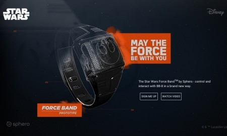 Sphero Debuts Wearable Force Band For Controlling BB 8 Android