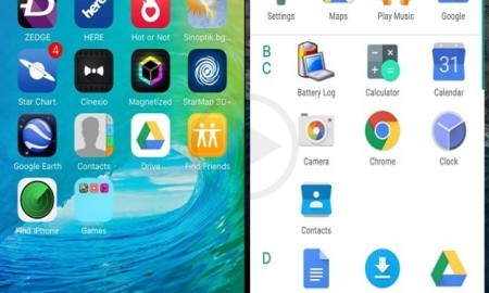 Notable Difference Between The iOS 9 And Android N