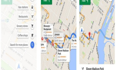Touch 3D Touch System Used In Google Maps