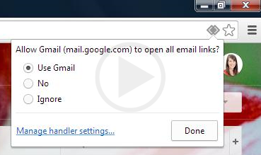 how to make gmail your default email in firefox