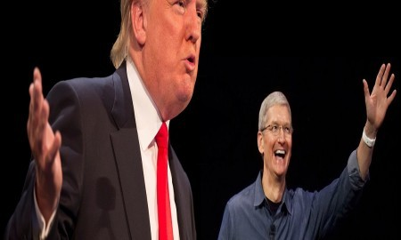 Tim Cook And Other Members Meet To Speak About Stopping Donald Trump