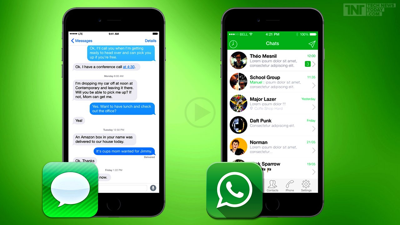 Whatsapp End To End Encryption Rolled Out Following Apples iMessage