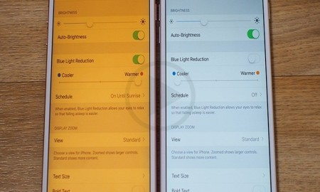 Using Low Power Mode And Night Shift Mode Together On iOS 9.3 Is Easy