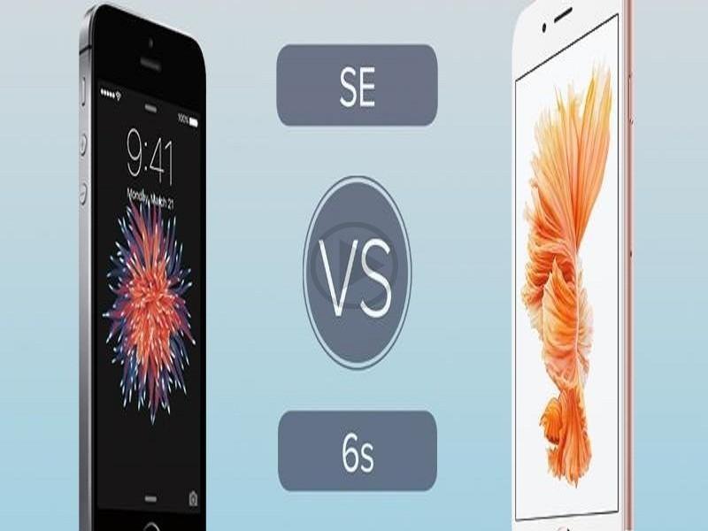 iphone se vs 6s camera specs