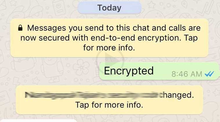 End To End Encryption Enables For WhatsApp Messages