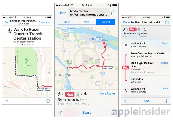 Apple Working On Adding Public Transit Information