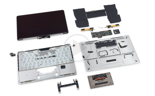 The Teardown Of The Latest MacBook 12 By Apple