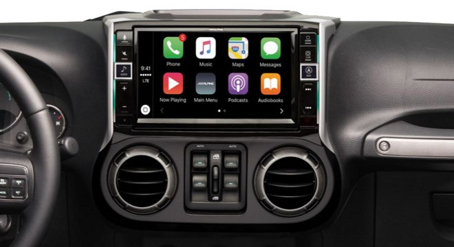 Alpine Introduces Its New Carplay Display Unit