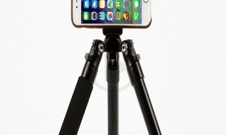The Monoshot is a Smartphone Tripod which is Affordable, Lightweight and Versatile