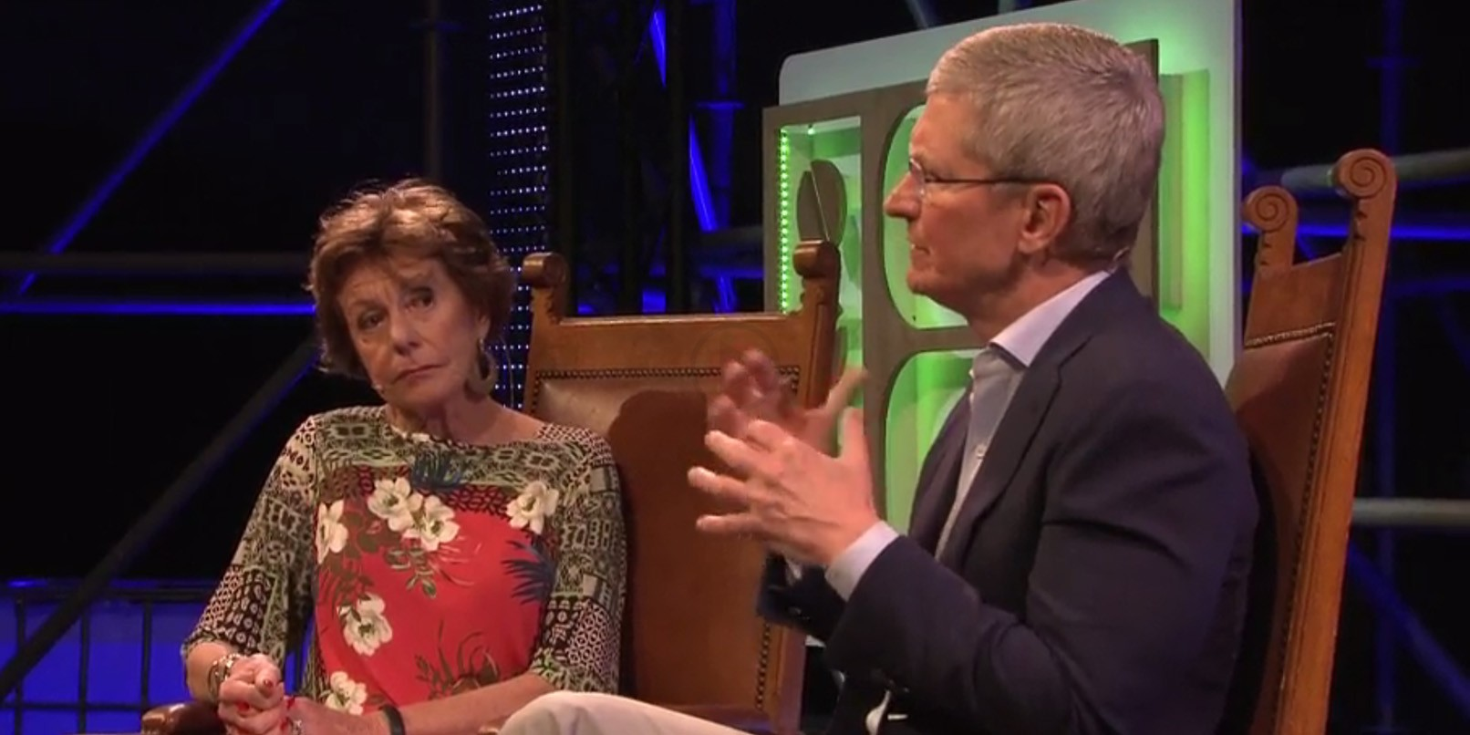 Tim Spoke With Neelie Kroes in an Exclusive Interview Fest