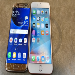 Comparison Between The New Samsung Galaxy S7 And The New iPhone SE