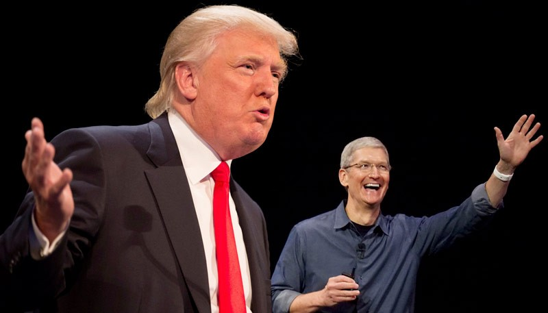Apple Backs of from Trumps Presidential Campaign Support