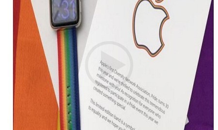 Apple Gifts Limited Edition Special Apple Watch to Their Employees for the Pride Parade Held  in San Francisco