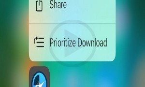 Prioritize Your Downloads in iOS 10 with the 3D Touch Action Feature