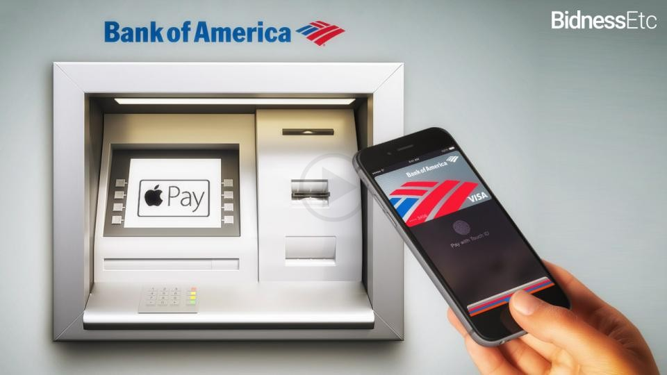 Apple Pay Can Now be Used Withdraw Cash From a Few ATMs of Bank of America