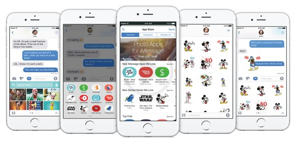 Apple Has Turned the iMessage on iOS 10 Into a Very Important Platform with a Whole New  Set of Changes