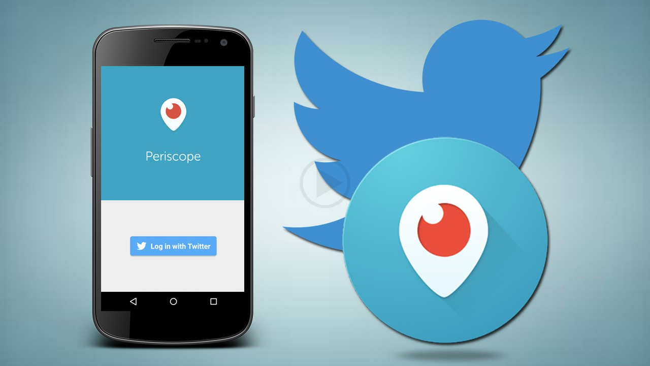 Periscope Button Being Bought As an in App by Twitter