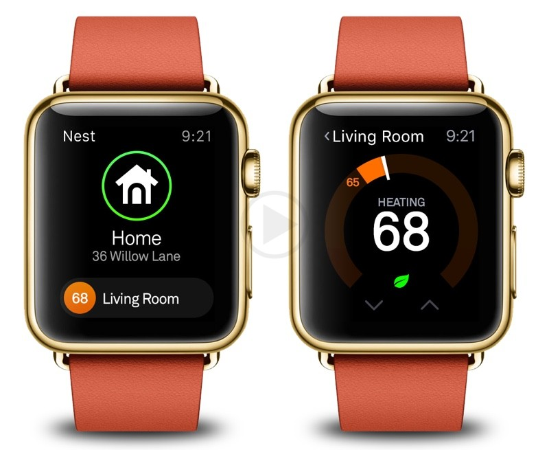 Use your Apple Watch to Control Your Nest Thermostat with the Latest Nest App Update