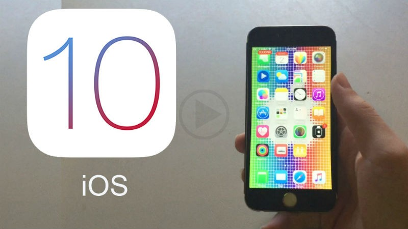Apple Launches List of Devices For iOS10
