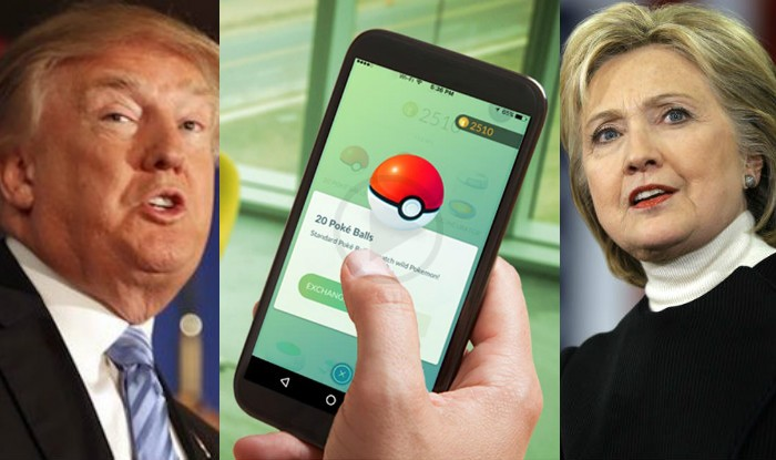 Pokémon Go Slowly Becomes a Part of Election Campaigns