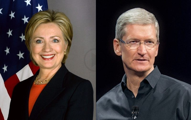 Hillary Clinton Fundraiser to Be Hosted by Tim Cook