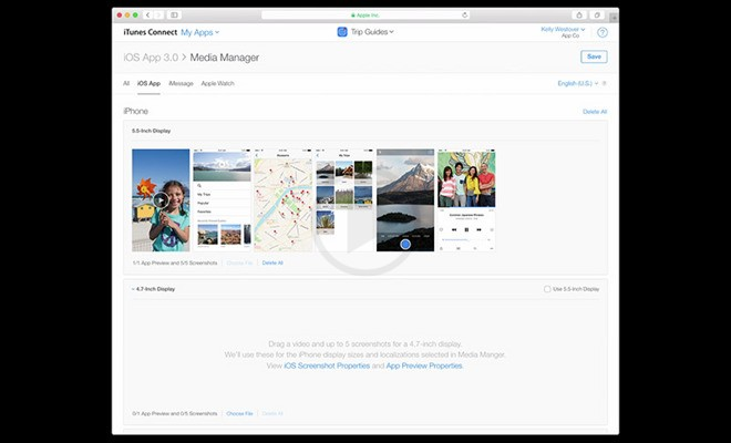 Connect with iTunes to Upload Screenshots Easily
