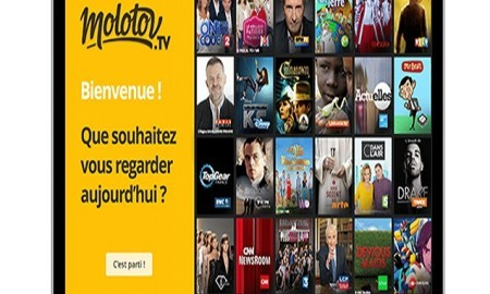 Apple TV Launches Freemium French Molotov TV